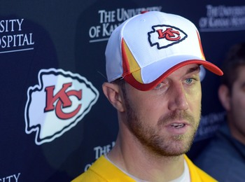 The Kansas City Chiefs hope new QB Alex Smith can lead the team back to the playoff in 2013.