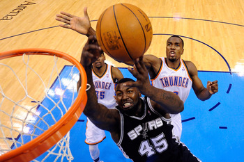 DeJuan Blair lost favor with the San Antonio Spurs this season.