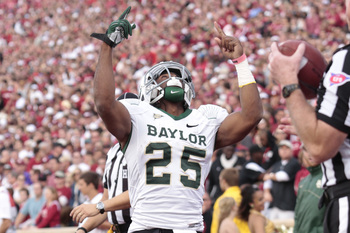 Baylor RB Lache Seastrunk could be the best running back in college football.