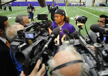 There's a lot of hype surrounding Cordarrelle Patterson. Adrian Peterson said Patterson will determine his productivity as a rookie.