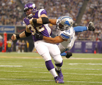 According to Adrian Peterson, Toby Gerhart entered OTAs in great shape.