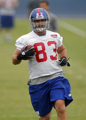 Myers went to the Giants from the Raiders in the offseason.