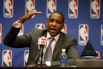 Masai Ujiri is looking to make noise in his new home.
