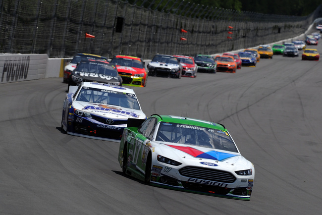 NASCAR teams take a few spins on Loudon track
