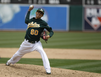 Chavez has made the most of his opportunities with the A's