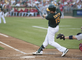 Smith has quietly been one of the A's best hitters in 2013