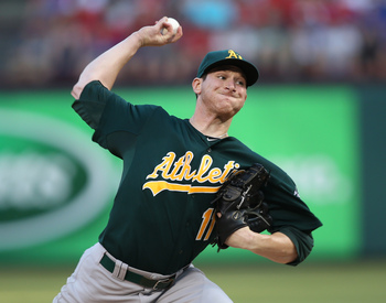 Jarrod Parker's improved performance has paralleled the A's improvement