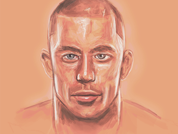 Source: http://dribbble.com/shots/961372-George-St-Pierre