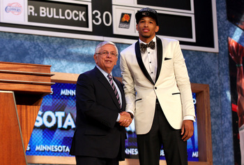 Andre Roberson (right), who the Warriors selected at No. 26 for the Oklahoma City Thunder.