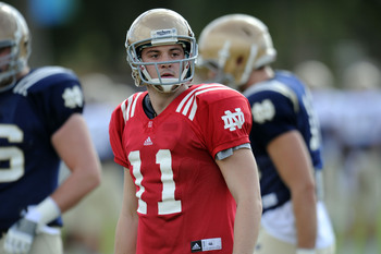 Tommy Rees will be under center for the Irish.