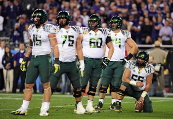 Oregon's offensive line is an extremely talented group.
