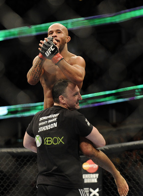 Champion Demetrious Johnson has looked great as a flyweight, but his days as champion are numbered.