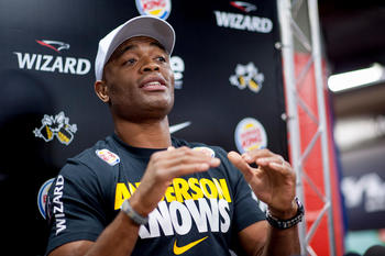 UFC champion Anderson Silva meets Chris Weidman at UFC 162