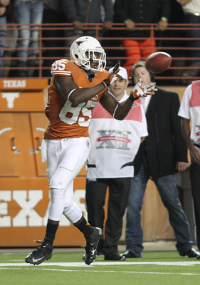Utilizing M.J. McFarland's receiving skills will give Texas a much-needed weapon over the middle.