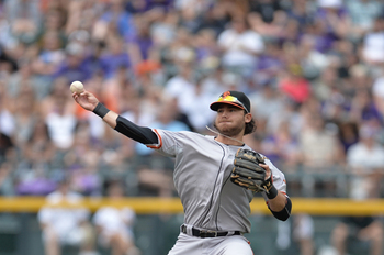 Brandon Crawford has played an excellent shortstop for the Giants.