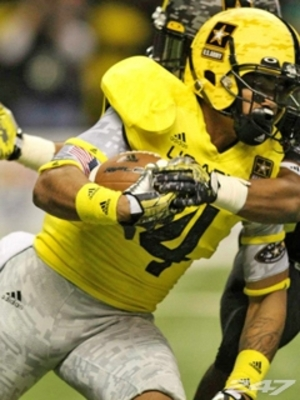 Thomas Tyner. Photo courtesy of 247sports.com