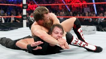 The first of many great matches involving The Shield