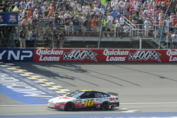 Greg Biffle outran all competitors in Michigan.