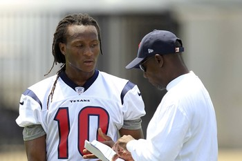 With the addition of DeAndre Hopkins, the Texans finally appear to have their legitimate No. 2.