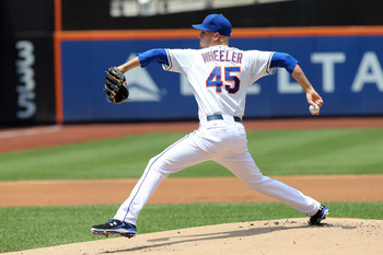 Zack Wheeler has been put right in to the rotation