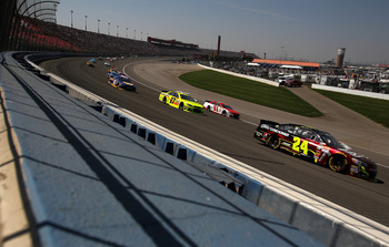 The racing product at Auto Club Speedway seemed to improve drastically in 2013.