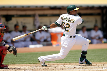 The A's will need Cespedes to lift off in the second half