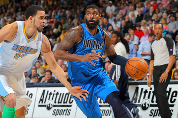 O.J. Mayo (right) of the Dallas Mavericks.