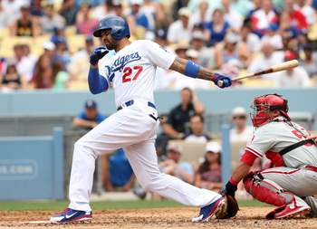 Kemp's struggles at the plate have hurt L.A.'s offense.