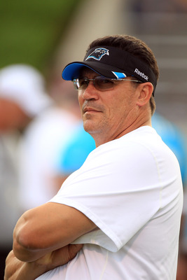 Ron Rivera's future as the Panthers head coach is one of many burning questions going into camp.