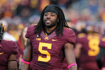 MarQueis Gray played his college football at Minnesota.