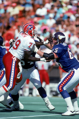 Zimmerman at the 1990 Pro Bowl