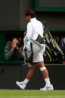 Two-time Wimbledon champion and reigning French Open champion Rafael Nadal lost on Day 1 of Wimbledon, foreshadowing the rest of the tournament.