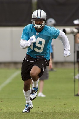 While Ginn hopes to be a part of the offense on a consistent basis, he will probably make a bigger impact as a return specialist.