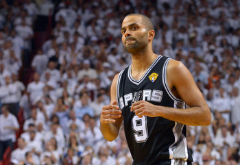 Despite falling apart toward the end of the NBA Finals, something tells me the Spurs aren't going to amnesty Tony Parker.