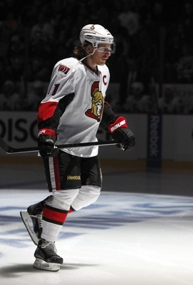 Daniel Alfredsson shocked the league when he elected to sign with Detroit.