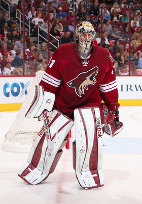 The Phoenix Coyotes locked up Mike Smith for six years.
