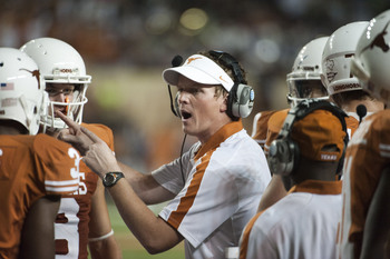 Does play-caller Major Applewhite hold the key to remaking the Texas offense into a national power?