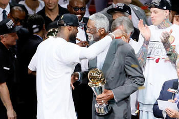 LeBron James reveres the greats and wants to be worthy of their respect.
