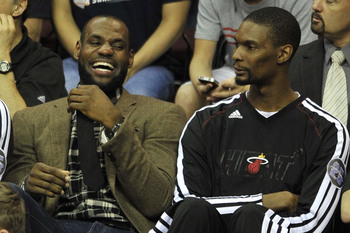 What makes LeBron James laugh? Just about everything.