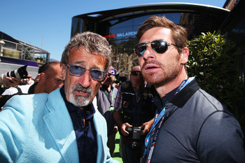 Villas-Boas was at the Monaco F1 Grand Prix in May.