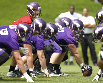 Christian Ponder is the man under center. For now.