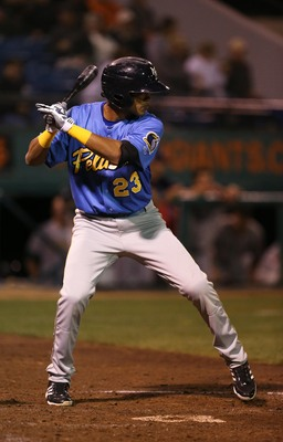 Luis Sardinas is currently on an eight-game hitting streak with the Pelicans.