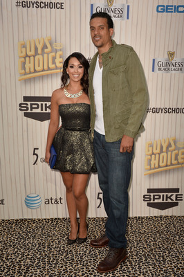 Matt Barnes with his wife, reality TV star Gloria Govan.
