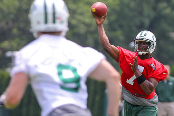 Will the Jets consider turning to Smith if Sanchez falters during the regular season?