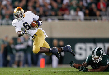 Will Notre Dame run away from the Spartans again?