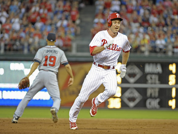 Chase Utley is healthy and swinging a good bat.