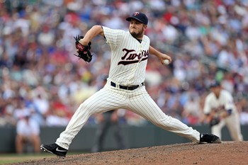 Glen Perkins is the Twins' closer.
