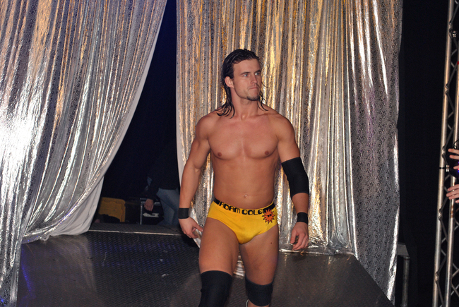 Adam Cole has been amazing fans of numerous organizations for years. Photo Courtesy of ROHwrestling.com