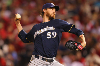 John Axford is among the relievers the Brewers are supposedly willing to part with.