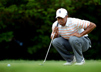If Tiger can't putt better at Muirfield, he will be doomed to the same results as Augusta National and Merion Golf Club.